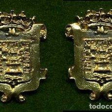 Medallas históricas: 2 MEDALLAS INSIGNIAS ORO DE LA PROVINCIA DE CADIZ ( VEJER DE LA FRONTERA ) Nº41 Y 42. Lote 73294083