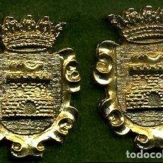 Medallas históricas: 2 MEDALLAS INSIGNIAS ORO DE LA PROVINCIA DE CADIZ ( BENALUP ) Nº43 Y 44. Lote 73295507