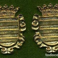 Medallas históricas: 2 MEDALLAS INSIGNIAS ORO DE LA PROVINCIA DE CADIZ ( BORNOS ) Nº47 Y 48. Lote 73296847