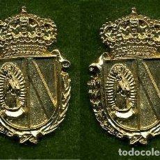 Medallas históricas: 2 MEDALLAS INSIGNIAS ORO DE LA PROVINCIA DE CADIZ ( ALGAR ) Nº53 Y 54. Lote 73297967