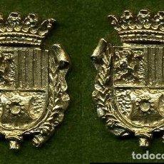 Medallas históricas: 2 MEDALLAS INSIGNIAS ORO DE LA PROVINCIA DE CADIZ ( UBRIQUE ) Nº57 Y 58. Lote 73337763