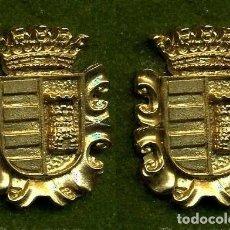 Medallas históricas: 2 MEDALLAS INSIGNIAS ORO DE LA PROVINCIA DE CADIZ ( PATERNA DE RIVERA ) Nº61 Y 62. Lote 73343491