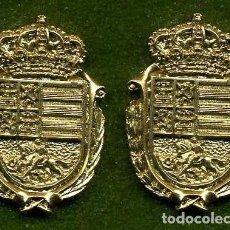 Medallas históricas: 2 MEDALLAS INSIGNIAS ORO DE LA PROVINCIA DE CADIZ ( ALCALA DE LOS GAZUELES ) Nº65 Y 66. Lote 73351023