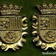 Medallas históricas: 2 MEDALLAS INSIGNIAS ORO DE LA PROVINCIA DE CADIZ ( BENAOCAZ ) Nº67 Y 68. Lote 73353955