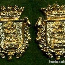 Medallas históricas: 2 MEDALLAS INSIGNIAS ORO DE LA PROVINCIA DE CADIZ ( ZAHARA DE LA SIERRA ) Nº73 Y 74. Lote 73378511