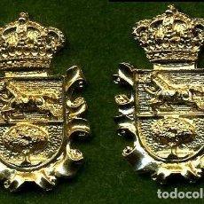 Medallas históricas: 2 MEDALLAS INSIGNIAS ORO DE LA PROVINCIA DE CADIZ ( PUERTO SERRANO ) Nº75 Y 76. Lote 73385463