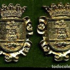 Medallas históricas: 2 MEDALLAS INSIGNIAS ORO DE LA PROVINCIA DE CADIZ ( EL GASTOR ) Nº79 Y 80. Lote 73393787