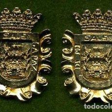 Medallas históricas: 2 MEDALLAS INSIGNIAS ORO DE LA PROVINCIA DE CADIZ ( OLVERA ) Nº83 Y 84. Lote 73407811
