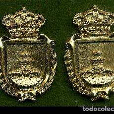 Medallas históricas: 2 MEDALLAS INSIGNIAS ORO DE LA PROVINCIA DE CADIZ ( TORRE ALHAQUINE ) Nº85 Y 86. Lote 73408379