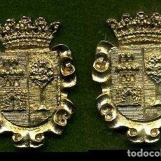 Medallas históricas: 2 MEDALLAS INSIGNIAS ORO DE LA PROVINCIA DE CADIZ ( ALCALA DEL VALLE ) Nº87 Y 88. Lote 73408891