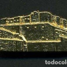 Medallas históricas: MEDALLA INSIGNIA ORO DEL CASTILLO DE GUZMAN EL BUENO EN TARIFA CADIZ - Nº9. Lote 73459811