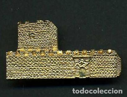 MEDALLA INSIGNIA ORO - CASTILLO DE GIGONZA - SAN JOSE DEL VALLE CADIZ - Nº26 (Numismática - Medallería - Histórica)