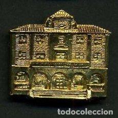 Medallas históricas: MEDALLA INSIGNIA ORO FACHADA DEL AYUNTAMIENTO DE EL BOSQUE CADIZ - Nº33. Lote 73593943