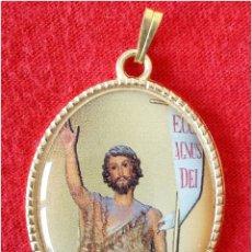 Medallas históricas: MEDALLA RELIGIOSA SAN JUAN BAUTISTA. Lote 73621290
