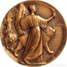 Medallas históricas: ESPAÑA. MEDALLA DEL 75 ANIVERSARIO HOTEL PALACE DE MADRID. 1.987. Lote 74203587