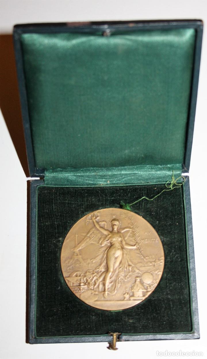 M-04. MEDALLA. AV MERITE. H DUBOIS. LE MEDAILLIER EDIT. BRONCE. SIGLO XIX (Numismática - Medallería - Histórica)