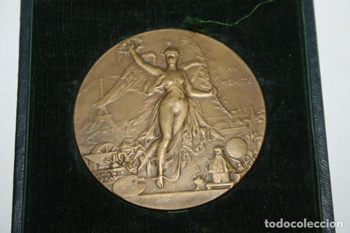 Medallas históricas: M-04. MEDALLA. AV MERITE. H DUBOIS. LE MEDAILLIER EDIT. BRONCE. SIGLO XIX - Foto 2 - 69389269