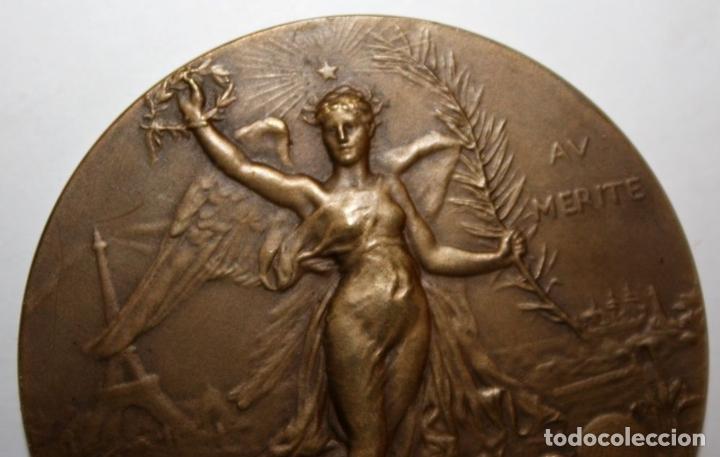 Medallas históricas: M-04. MEDALLA. AV MERITE. H DUBOIS. LE MEDAILLIER EDIT. BRONCE. SIGLO XIX - Foto 4 - 69389269