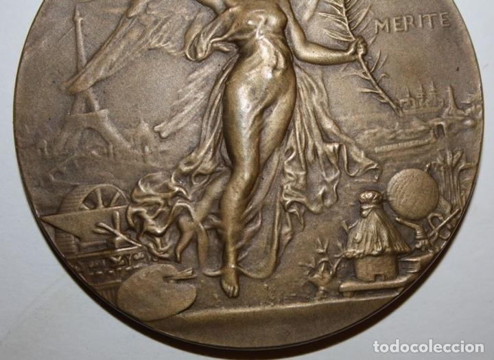 Medallas históricas: M-04. MEDALLA. AV MERITE. H DUBOIS. LE MEDAILLIER EDIT. BRONCE. SIGLO XIX - Foto 5 - 69389269