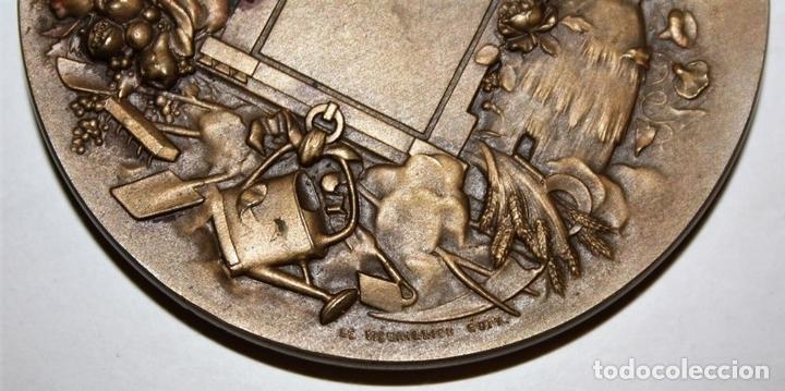 Medallas históricas: M-04. MEDALLA. AV MERITE. H DUBOIS. LE MEDAILLIER EDIT. BRONCE. SIGLO XIX - Foto 6 - 69389269
