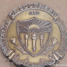 Medallas históricas: RARA Y CURIOSA MEDALLA. UNIVERSITY OF SOUTHERN CALIFORNIA - 1880. LA PIEZA ESTÁ DOBLADA.. Lote 75304903