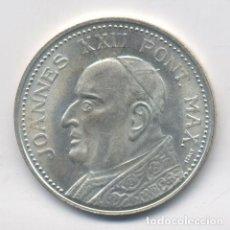 Medallas históricas: MEDALLA DE JUAN XXIII-JOANNES XXIII-ROMA-CIUDAD DEL VATICANO-PIETA. Lote 75754615
