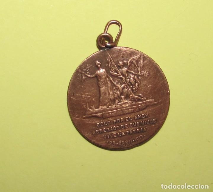 Medallas históricas: ANTONIO MAURA Y MONTANER - 1917 - MEDALLA ORIGINAL - Foto 2 - 77922129