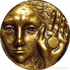 Medallas históricas: ESPAÑA. MEDALLA F.N.M.T. LA FAMILIA Y EL TIEMPO. 1.983. BRONCE. Lote 79814873