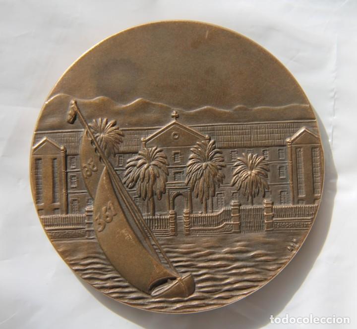MEDALLA CENTENARIO COLEGIO SAN ESTANISLAO EL PALO MALAGA 1882-1982 EN PERFECTO ESTADO (Numismática - Medallería - Histórica)