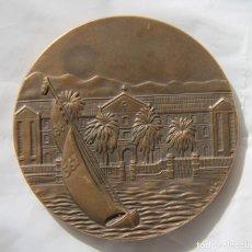 Medallas históricas: MEDALLA CENTENARIO COLEGIO SAN ESTANISLAO EL PALO MALAGA 1882-1982 EN PERFECTO ESTADO. Lote 80151273