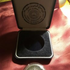 Medallas históricas: MEDALLA LIBERACION KUWAIT PLATA. Lote 80387179