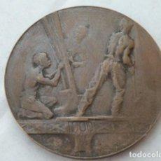 Medallas históricas: RARA MEDALLA DE BRONCE DE 1900 DE LA TORRE EIFFEL, PESA 28,3 GRAMOS. Lote 80764762