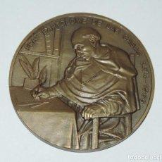 Medallas históricas: MEDALLA CONMEMORATIVA DE FRAY BARTOLOME DE LAS CASAS, 1474 / 1566, INSTITUTO DE COOPERACION IBEROAME. Lote 195364565