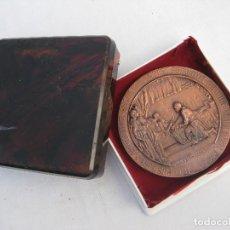 Medallas históricas: UNICA! GRAN MEDALLA 1286 1986 7º CENTENARIO JAIME PRIMERO REY DE ARAGON Y VALENCIA. Lote 82224460