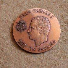 Medallas históricas: MEDALLA. JUAN CARLOS I REY DE ESPAÑA. IOANNES III DEI GRATIA.. Lote 83124780