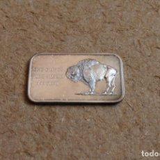 Medallas históricas: MEDALLA DE UNA ONZA DE PLATA. AMERICA BI-CENTENNIAL. 1776-1976.. Lote 83291320