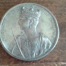 Medallas históricas: ANTIGUA MEDALLA DE LA CORONACION DE VICTORIA QUEEN OF ENGLAND DEL AÑO 1838. Lote 83451084