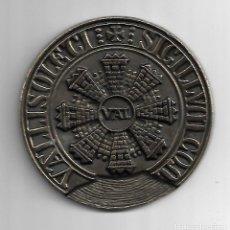 Medallas históricas: MEDALLA SELLO ANTIGUO DE LA VILLA DE VALLADOLID .DIAMETRO 9 CM. VER FOTOS. Lote 83475380