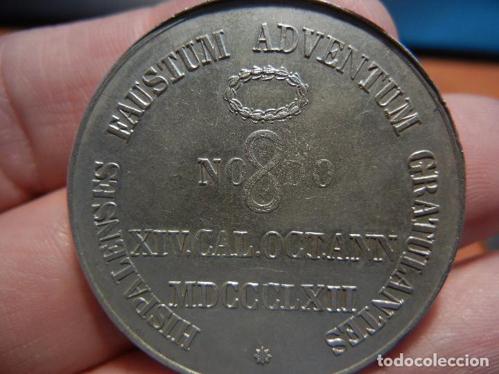 Medallas históricas: Medalla de la visita de la Reina Isabel II a Sevilla.1862. - Foto 4 - 84340280