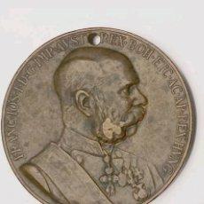 Medallas históricas: MEDALLA DE AUSTRIA CONMEMORATIVA 50 AÑOS CORONACION. Lote 84525707