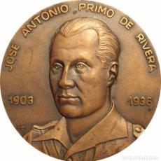 Medallas históricas: ESPAÑA. MEDALLA HOMENAJE A JOSÉ ANTONIO PRIMO DE RIVERA. FALANGE. Lote 84534076