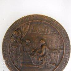 Medallas históricas: JAIME I. IACOBUS REX ARAGONUN. MEDALLA CONMEMORATIVA 5º CENTENARIO. VALENCIA. Lote 85760932