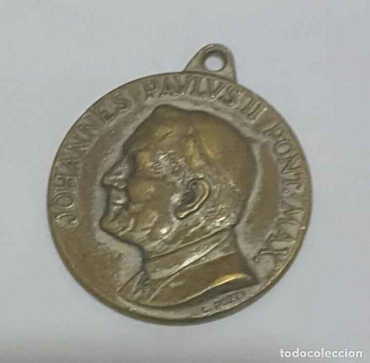 MEDALLA JUAN PABLO II FIRMADA POZZI (Numismática - Medallería - Histórica)
