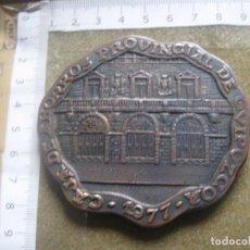 Medallas históricas: MEDALLA DE LA CAJA DE AHORROS PROVINCIAL DE GUIPUZCOA - 1896/1977. Lote 87872500