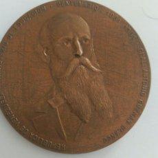 Medallas históricas: MEDALLA CENTENARIO GRAL ANTONIO GUZMÁN BLANCO. MIMISTERIO DE EDUCACIÓN VENEZUELA 1981. Lote 88319392