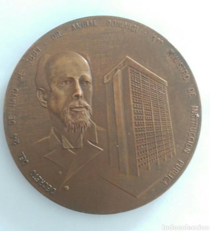 Medallas históricas: Medalla Centenario. Presidente Gral Antonio Guzmán Blanco. Ministerio de Educación Venezuela 1981 - Foto 2 - 88319392