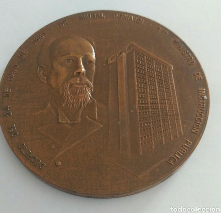 Medallas históricas: Medalla Centenario. Presidente Gral Antonio Guzmán Blanco. Ministerio de Educación Venezuela 1981 - Foto 4 - 88319392