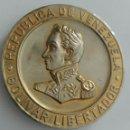 Medallas históricas: MEDALLA SESQUICENTENARIO DEL CONGRESO DE ANGOSTURA 1819-1969. VENEZUELA. BOLÍVAR LIBERTADOR. Lote 88320719