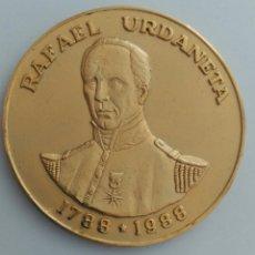 Medallas históricas: MEDALLA CONMEMORATIVA AL BICENTENARIO DEL NACIMIENTO DEL GENERAL RAFAEL URDANETA. VENEZUELA. Lote 88787512