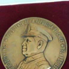 Medallas históricas: EXTINTA MEDALLA DEL GENERAL DEL EJÉRCITO DE CHILE. AUGUSTO PINOCHET U. 1973. Lote 88928714